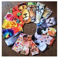 Wholesale novelty socks New arrival Big Girl Cartoon D Socks Women Cartoon Socks Funny D Retro Painting Art Sock D Patten Fashion Casual Sock