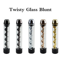 Wholesale Newest Cheap Twisty Glass Blunt Pipe Kit Second Generation Twist in stock price