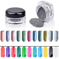 beauty box nails - Newly Design g Box Women Beauty Silver Nail Glitter Powder Shinning Nail Makeup Art DIY Chrome Pigment