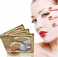 Wholesale Collagen Crystal Eye Masks Anti Puffiness Dark Circle Moisturizing Eye Masks Anti Aging Masks Anti Wrinkle Eye Care Women Birthday Gifts F82