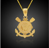 bible christianity - 18K Gold Plated Christianity Jewelry Jesus Cross Pendant Anchor Pendant Bible Corinthians Necklace Nautical Jewelry Hip Hop
