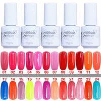 Cheap Good quality Gelish Nail Polish UV Gel Soak Off Gel Polish Nail Lacquer Varnish 100% Brand New Top Quality Long-lasting Colors 168 Color 5ml