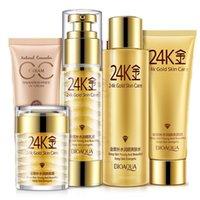 Wholesale K Perfect Skin Care Sets Makeup Cleanser Toner Cream Lotion Foundation CC Cream Make Up Whitening Moisturizing Face Care