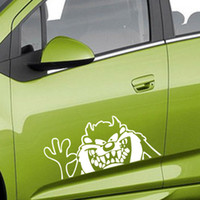 Wholesale 1pcs Automobiles Motorcycles Exterior Accessories Car Stickers cm cm Funny Dog Car Sticker Car Paster Automobile Decal