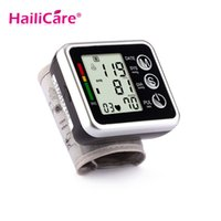 Wholesale Health Care Automatic Digital Wrist Blood Pressure Monitor Meter Cuff Blood Pressure Measurement Health Monitor Sphygmomanometer