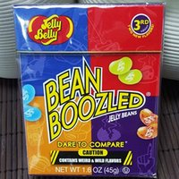 bean boozled spinner - 45g Jelly Bean Candy Bean Boozled Bean Only without Spinner Bin Buzld Candy Harry Potter Gift Box Belly Candy