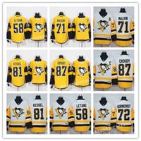 Wholesale Pittsburgh Penguins Stadium Series Kris Letang Sidney Crosby Evgeni Malkin Phil Kessel hockey jersey stitched
