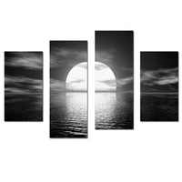 Wholesale LK403 Panel Canvas Paintings Seascape Large Wall Art Oil Paintings On Canvas Unframed Or Framed Ready To Hang x47Inches For Home