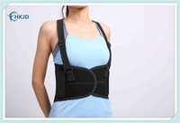 Wholesale Adjustable Lumbar Belt Work Back Support Belt Widen Lumbar Support Brace Steels Plate Protection Sport Belts