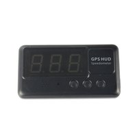 Wholesale Car HUD GPS Head Up Display KM h MPH Overspeed Warning Windshield Project Alarm System Head up display Vehicle Speedometer