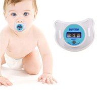 Wholesale Newborn baby pacifier thermometer thermometer with baby oral electronic measuring household waterproof products
