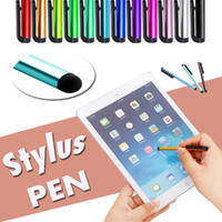Wholesale Mixed Colors Capacitive Screen Touch Stylus Pen For iPhone Plus S SE S iPad iTouch Samsung Galaxy S8 S7 S6 Edge Note Tablet PC