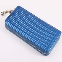 Women beautiful note cards - Fashion Beautiful Purse For Women Luxurious PU Clutch Wallets Coins Bags Cell Phone Pocket Cheap Price Wholeslae New Arrival