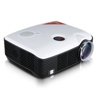 DLP atv dvd - Hot Excelvan PH5 Multimedia Projector Support AV USB VGA HDMI ATV Home Theater TV Proyector Beamer For DVD PC Tablet