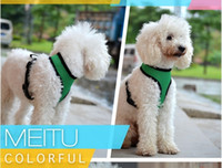 basic collar - Fashion nylon net dog pet harness Soft Air Mesh Dog Harness dog clothes dog harness