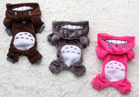 Wholesale Hot sell pet costumes puppy dog clothes cotton hoodie jacket coat outfit sweatshirt clothes