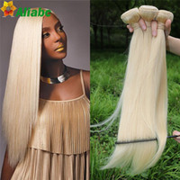 Wholesale 613 Blonde Virgin Hair straight brazilian Virgin Hair Straight human hair extension A cheap Brazilian Weave