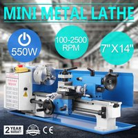 Wholesale 550W Precision Mini Metal Lathe Metalworking Variable Speed Tooling Infinite