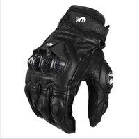 Wholesale Furygan AFS6 Leather Racing Glove Motorcycle Gloves ride bike driving bicycle cycling Motorbike Sports moto racing gloves Size M L XL