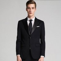 Cheap Tailor Made Black Slim Fit Suit | Free Shipping Tailor Made ...