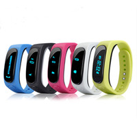 age kit - B1 Bluetooth Car Kit Smart Bracelet Talk Band Bluetooth Headset wristband Sleep Monitor Smart Watch Android IOS Pedometer