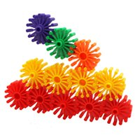 Wholesale Colorful Interlocking Building Roller Blocks Play Bright Vivid Colors and Endless Combinations Intelligence Toy for Kids ZJ0009 jimu m