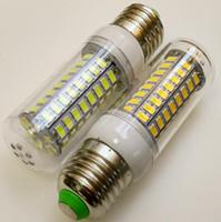 NinguÌ n parpadeo LED Maíz lámpara 5730SMD E27 E14 220V larga vida Alcance proyector Bulbo Proteja la salud de los ojos LED Luz de maíz