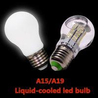 ac liquid - Brand new liquid cooled led bulbs W W W W E27 led light bulbs lm w high bright AC V V led bulbs