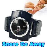 Wholesale TSY Electronic snore Stopper Biosensor Anti Snore Wristband Watch Cessation Cure Solution Pure Sleeping Night Guard Aid
