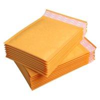 Precio de Burbuja de papel kraft-Venta al por mayor-Venta al por mayor 50pcs / lot fabricante Kraft bolsas de la burbuja envoltorios envueltos envoltura de papel 12x16cm