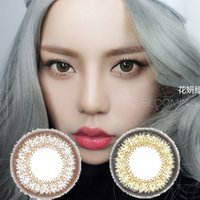 Wholesale 1pair NEW Flower colors color contact lenses DHL shipping Recognized comsmetic contact lenses