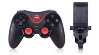 Contrôleur bluetooth android gamepad Prix-Gen Game S5 Joystick sans fil Bluetooth Gamepad pour Android Smartphone Tablet PC Remote Controller With Holder