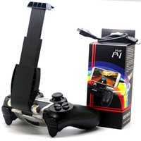 Wholesale VR PLUS Adjustable Mount Bracket Slim Stand Mobile Phone Smart Clip Clamp Holder Extendable For Playstation for Sony PS4 Game Controller
