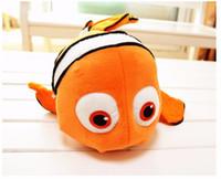 Los regalos estupendos vendedores calientes de los pescados de oro del juguete de la felpa de Nemo de los pequeños de los juguetes de la felpa de 1pcs 9