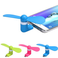 Wholesale Mini USB Fan Pin Flexible Phone Hand Fan for Samsung Xiaomi Android cellphone Fan for iPhone with OPP package