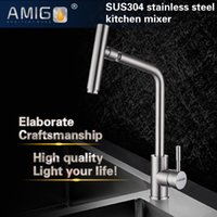 Wholesale Brand new kitchen mixer SUS304 stainless steel sink tap import German kitchen faucet