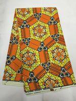 achat en gros de vert africain cire print-Green Color Guaranteed Dutch Wax African Wax 2017 Nouveau designer Nigérian Coton Imprimé Tissu Africain 6 Yards NRM01