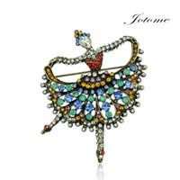 Cheap African Ballet Brooch Best Unisex Gift Dance Girl Brooch