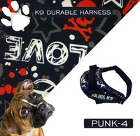 Wholesale New Upgrade JULIUS K9 Dog Harness Vest and Leash Pet For Small Large Grow Dogs Safety Collar Cat Arneses Perro