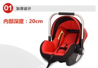 Wholesale 2016 hot hot style shopping basket type child safety seats Neonatal portable cradle A undertakes to