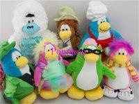 baby doll club - Hot quot H Cartoon Classic Cute Club Penguin plush doll Childhood Baby Plush Toys Classic Doll