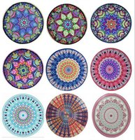Wholesale Indian Mandala Tapestry Boho Bohemian Hippie Bikini Beach Cover Ups Beach Towel Beachwear Beach Sarongs Shawl Yoga Mat Table Cover B1493