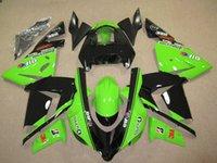 best motorcycle fairings - 4 Free Gifts New ABS motorcycle bike Fairings Kits Fit For kawasaki Ninja ZX R ZX10R Bodywork set black green best