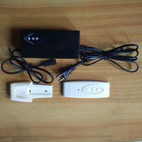 Tres botones de control de conmutación Mecanismo Adaptador de corriente 2.4G Hz Wiress Unidad de Mando a distancia actuador lineal sofá reclinable Arriba y Dowm