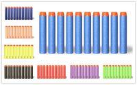 Wholesale 1000 Nerf N strike Elite Retaliator Series Blasters Refill Clip Darts Nerf Bullet Air Gun Toys Outdoor Fun Sports