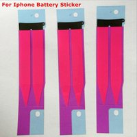 Wholesale New Replacement Battery Sticker Adhesive Pull Strip Tab Glue For iPhone S s s plus s Plus cell phone