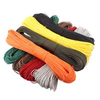 Wholesale 50meters Dia mm one stand Cores Paracord for Survival Parachute Cord Lanyard Camping Climbing Camping Rope Hiking