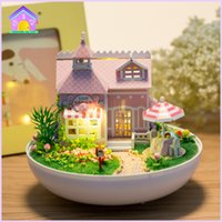 Wholesale Toys Gifts Doll Houses DIY hut hut birthday gift for Christmas ornaments creative