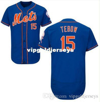 Men best sport shirts - Hot Sale Men s Tim Tebow New York Mets Royal Best Quality Blue Baseball Jersey Sports style shirts Mix Order