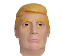 appliances shop - 2017 The USA President Trump Mask Christmas Funny performance Latex appliance Carnival Celebrity Billonaire Men coplay playing free shopping